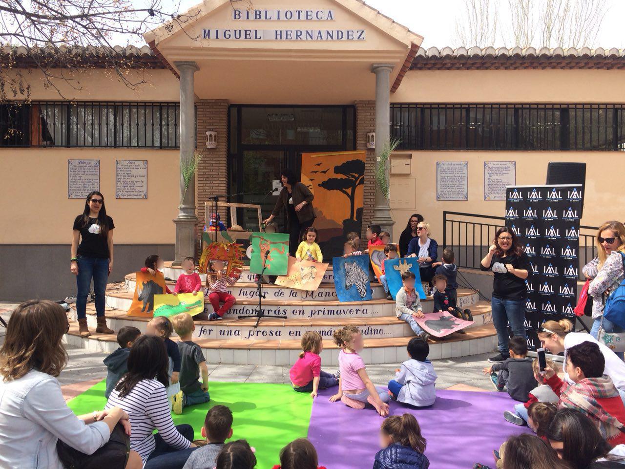 Pequefestival con actividades en inglés para niños en La Zubia