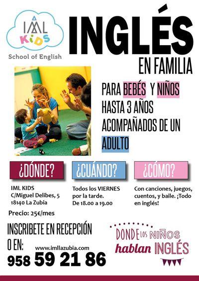 Ingl s en familia nuevos talleres para ni os 2016 17 talleres blog iml la zubia granada - Aprender ingles en un mes ...