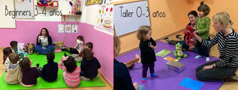 talleres de inglés para niños y adultos