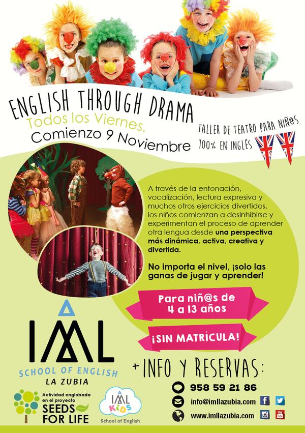 beneficios del teatro para aprender inglés en niños