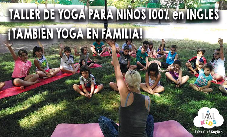 taller de yoga en inglés