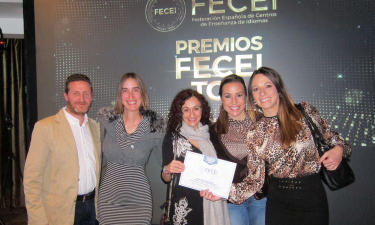 academia de inglés en Granada, premios FECEI